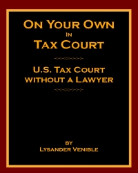 Cover Image of On Your Own In Tax Court