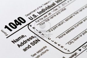 IRS Form 1040 Tax Retrun